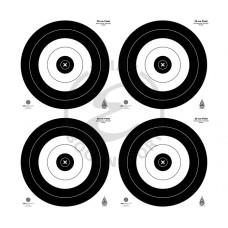 JVD Target Faces IFAA Field 4x20 cm