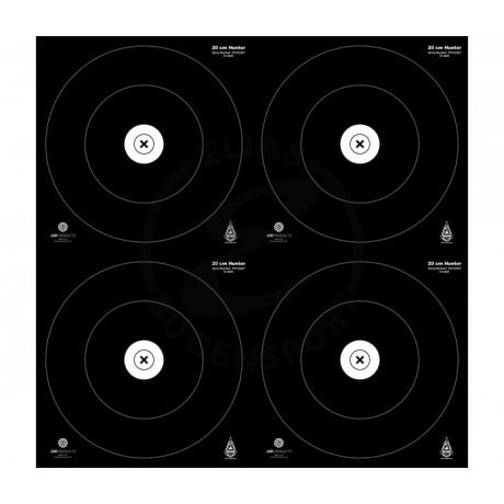 JVD Target Faces IFAA Hunter 4x20 cm