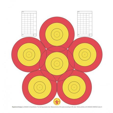 Danage Practice Faces 40cm 6-Spot