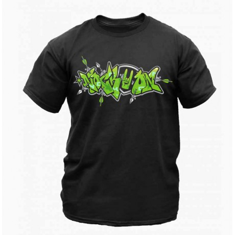 Nock On Shirt Graffiti