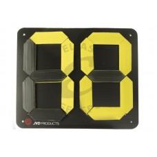 JVD Target Number Flipboard