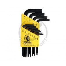Bondhus Allen Wrench Set .50-5/16